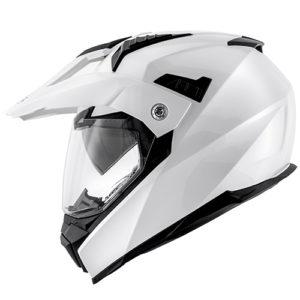 Kappa KV30 White motorcycle helmet